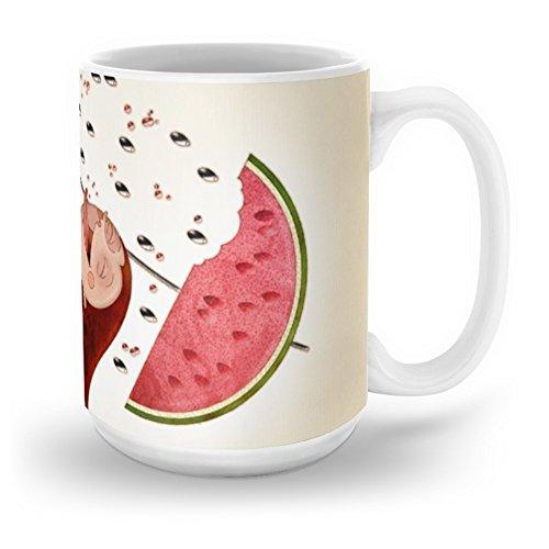 Society6 Watermelon Mug 15 oz