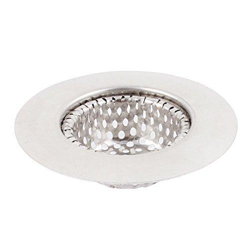 DealMux Stainless Steel Home Kitchen Bathtub Basin Drain Strainer 7cm Dia