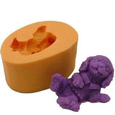 Baking Mold Dog Animal Baking Fondant Cake Chocolate Candy MoldL65cmW45cmH3cm