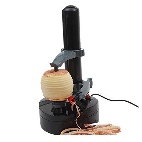 Gallity Rapid Peeler Potato PeelerElectric Auto Rotating Apple Vegetable Fruit Peeler MachineStainless Steel Electric Fruit Peeler Kitchen Peeling Tool with 2 Extra Blades
