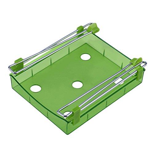 BAOBAO Fridge Storage Drawer Box Kitchen Shelf Rack Organizer Table Saving Space