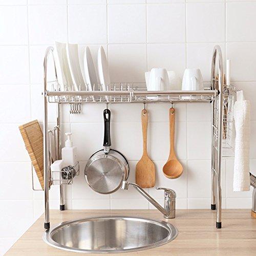 lzzfw 304 stainless steel water Siu Lek Yuen water rack kitchen racks bowls and chopsticks shelf Iraq dish rack