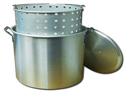 King Kooker KK80 80-Quart Aluminum Boiling Pot Renewed