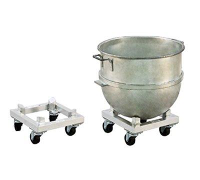 New Age 99936 Mixing Bowl Dolly 14 x 14 x 7-916H Accommodates 80 Quart Bowl