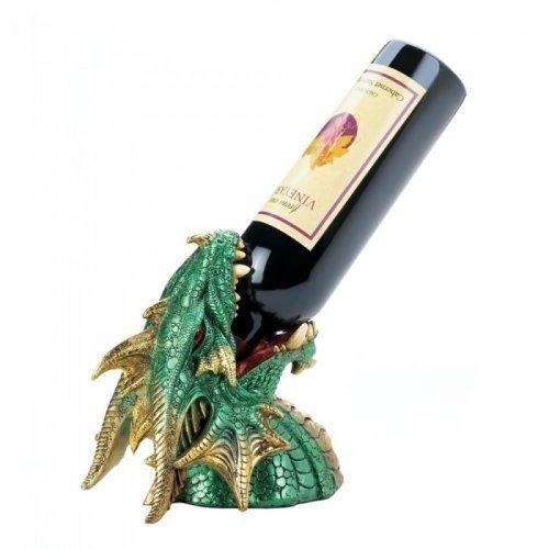 Dragon Crest GREEN DRAGON DRINKING WINE HOLDER