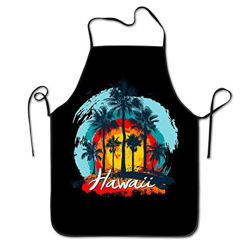 WENTiandi Vintage Hawaiian IslandsCooking Aprons Bib ApronsAprons For Girls Boys Aprons Bulk Aprons For Women Men