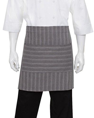 Chef Works Brooklyn Half Bistro Server Apron AW036