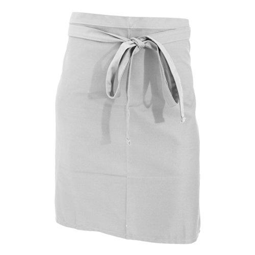 Jassz Bistro Unisex Short Length Bistro Apron  Hospitality Catering One Size White
