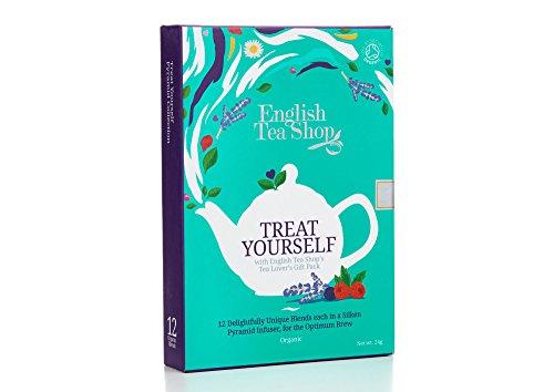 English Tea Shop Assorted Loose Tea Metal Tin Gift Box