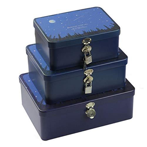 Kylin Express Candy Tin Cookies BoxCute Tin Box CardsUSBStorage AccessoryGift BoxK