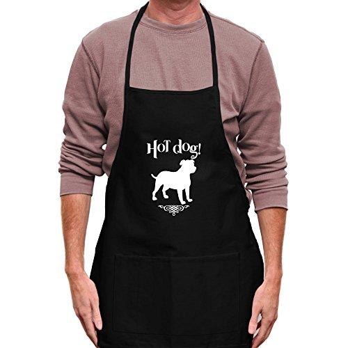 Teeburon HOT DOG English Mastiff Apron