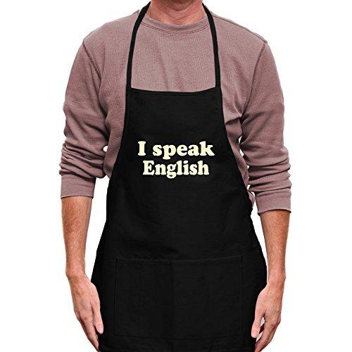 Teeburon I SPEAK English Apron