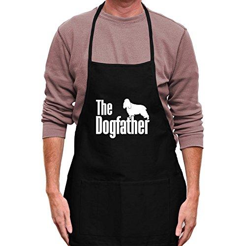Teeburon The dogfather English Cocker Spaniel Apron