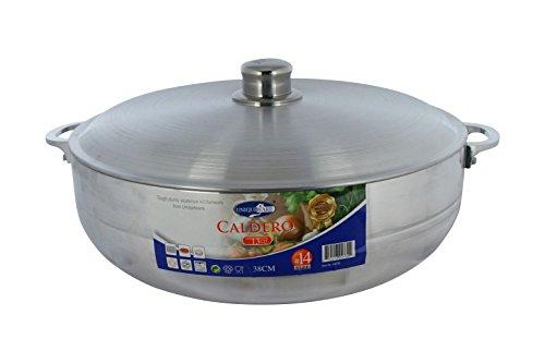 Cucina Bella Cast Aluminum Caldero - 38cm 115qt
