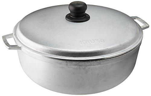 IMUSA USA GAU-80506W Cast Aluminum Caldero 69-Quart 30cm Silver