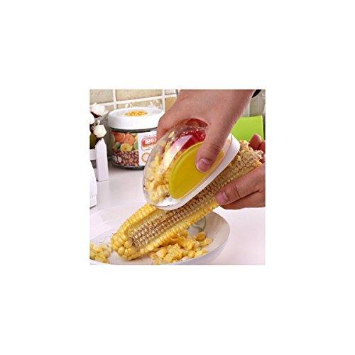 Maylai Corn Cutter Creative Corn Peeler Quick Corn Stripper Scraper Slicer Zipper Corn Cob Kernel Remover Corn On The Cob Cutter With Hand Protector
