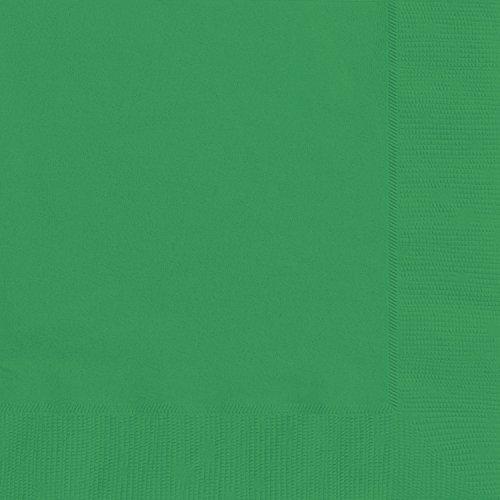 Green Paper Napkins 20ct