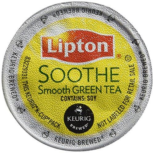 Lipton K-Cup Single Serve Tea 12 Count Pack of 3 Soothe Green Tea
