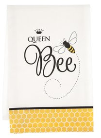 Bee Themed Kitchen Towels Available in three Different Designs Queen