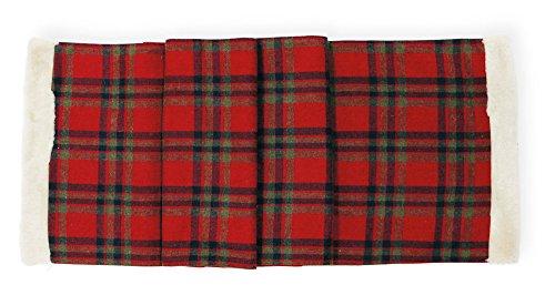 Boston International HNX17375 Christmas Trimmings Table Runner Red Plaid