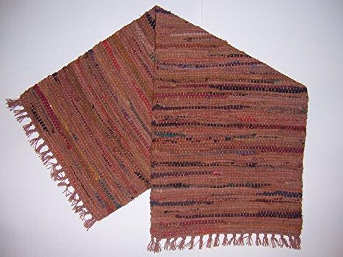 13 x 36 Primitive Table Runner in Spice Sturbridge Woven Cotton