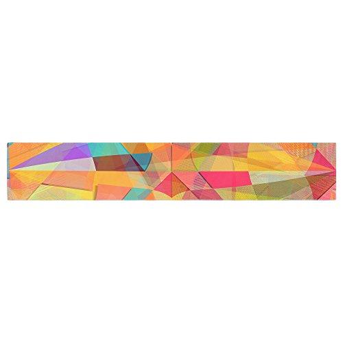 Kess InHouse DI1121ATR01 Danny Ivan Star Geometric Multicolor Table Runner