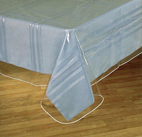 Clear Plastic Tablecloth Protector Table Cloth Vinyl 54 x 72