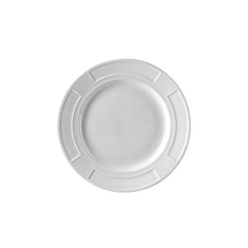 10 Strawberry Street Sorrento 6 Bread Butter Plate Set of 6 White