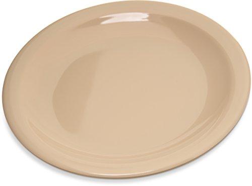 Carlisle 4350525 Dallas Ware Melamine Bread and Butter Plate 066 x 558 Tan Case of 48