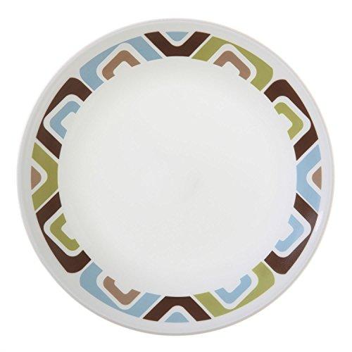 "Corelle Livingware Squared 6-34"" Bread Butter Plate Set of 12"