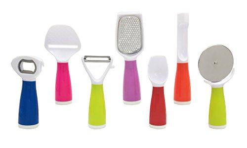Slicer Grater Peeler Kitchen Gadgets Tools Set Cooking Tools 7-Peice Random Color