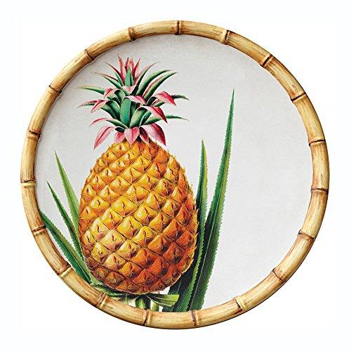 Botanica Bamboo Merritt International 9in Melamine Salad Plate - Pineapple