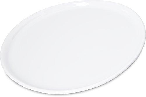 Carlisle 5300102 Stadia Coupe Melamine Salad Plate 9 White