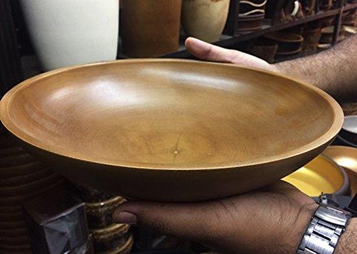 Mango Wood Serving Bowl 12 X 3