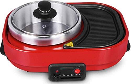 Electric baking pan Hot Pot Double Pot Integrated Cooker Pot Electric Hot Pot Electric Barbecue Energy Class A