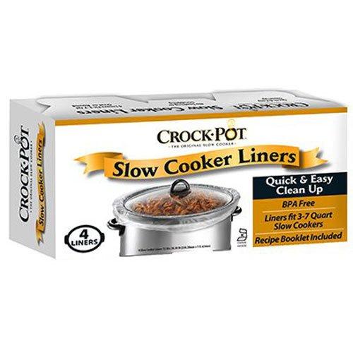 Crockpot Slow Cooker Liner - 4 liners 13In x 2030In