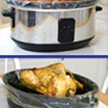 Pansaver EZ Clean Slow Cooker Liner 50 count per pack -- 10 per case