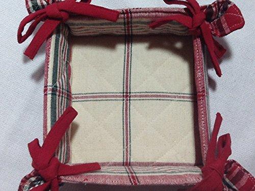 Christmas Square Cloth Tray