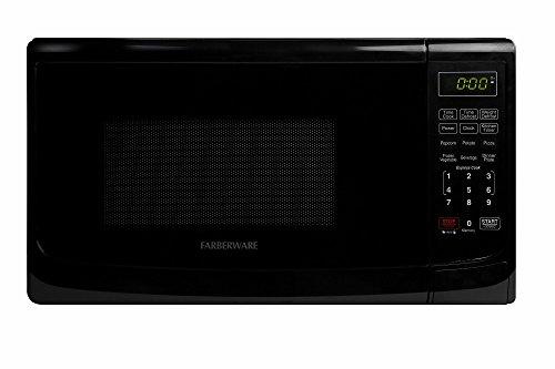 Farberware Classic FMO07ABTBKA 07 Cubic Foot 700-Watt Microwave Oven Black
