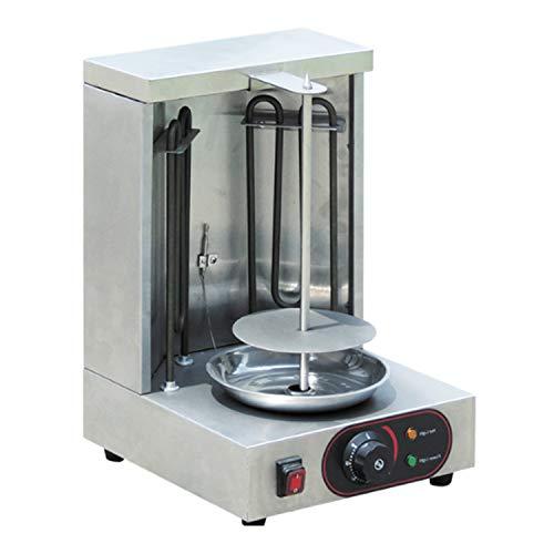 Shawarma Grill Machine Mini Doner Kebab Machine Electric Vertical Broiler 1 Burner Gyro Machine