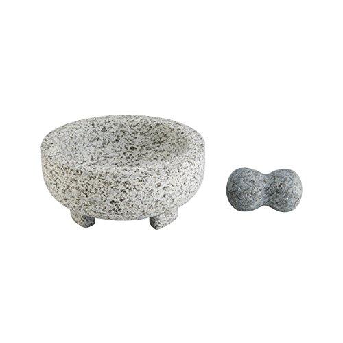 Farberware Professional Large Granite Mortar Pestle Gray