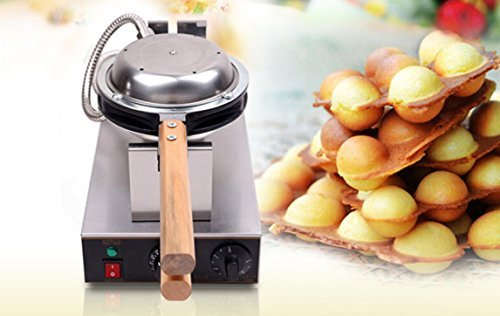 Electric Stainless steel Eggettes Bubble Waffle Maker Commercial egg waffle maker Non-stick pan waffle grill Egg puff machine