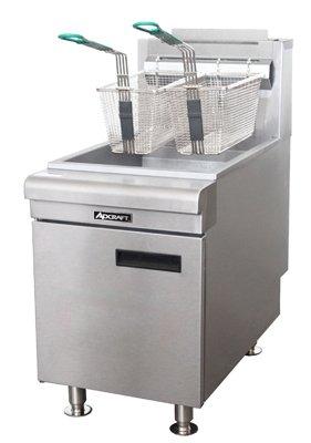 Adcraft 60k BTU LP Gas Countertop Fryer Model CTF-60-LPG