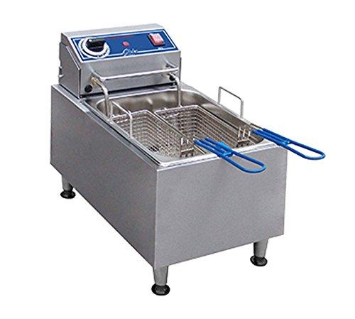 Globe PF10E 10 lb Electric Countertop Fryer