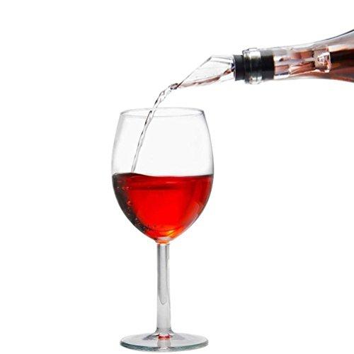 Fenleo 3-in-1 Wine Bottle Cooler Stick Stainless Steel Wine Cooling Rod