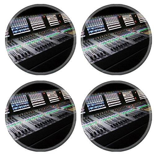 Liili Round Coasters professional audio mixer for you music Photo 6060673