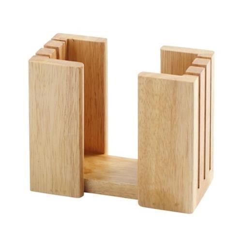 Farberware Natural Wood Bagel Slicer Holder