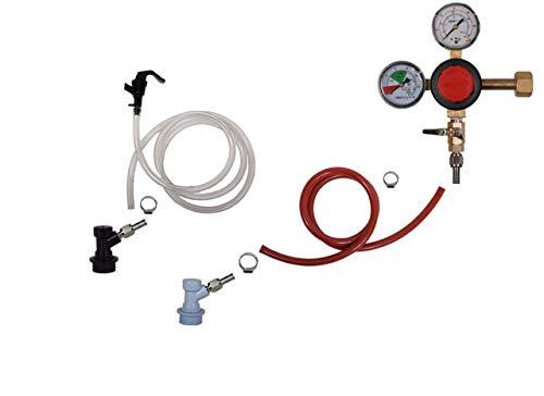 Homebrew Kegerator Kit Ball Lock Single Tap Premium Taprite Regulator