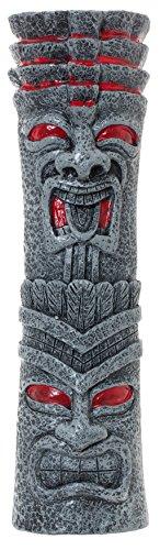 Tiki Totem Pole Full Size 10 Beer Tap Handle Pull for Homebrew Kegerators or Bars