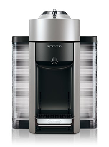 Nespresso Vertuo Evoluo Coffee and Espresso Machine by DeLonghi Silver